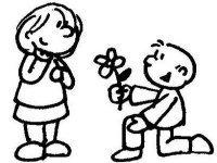 - hati berbunga -