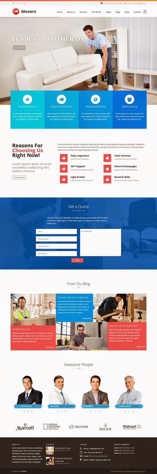 Best Responsive Service Business WordPress Theme