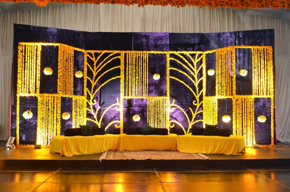 Decoration At Sangeet Sandhya