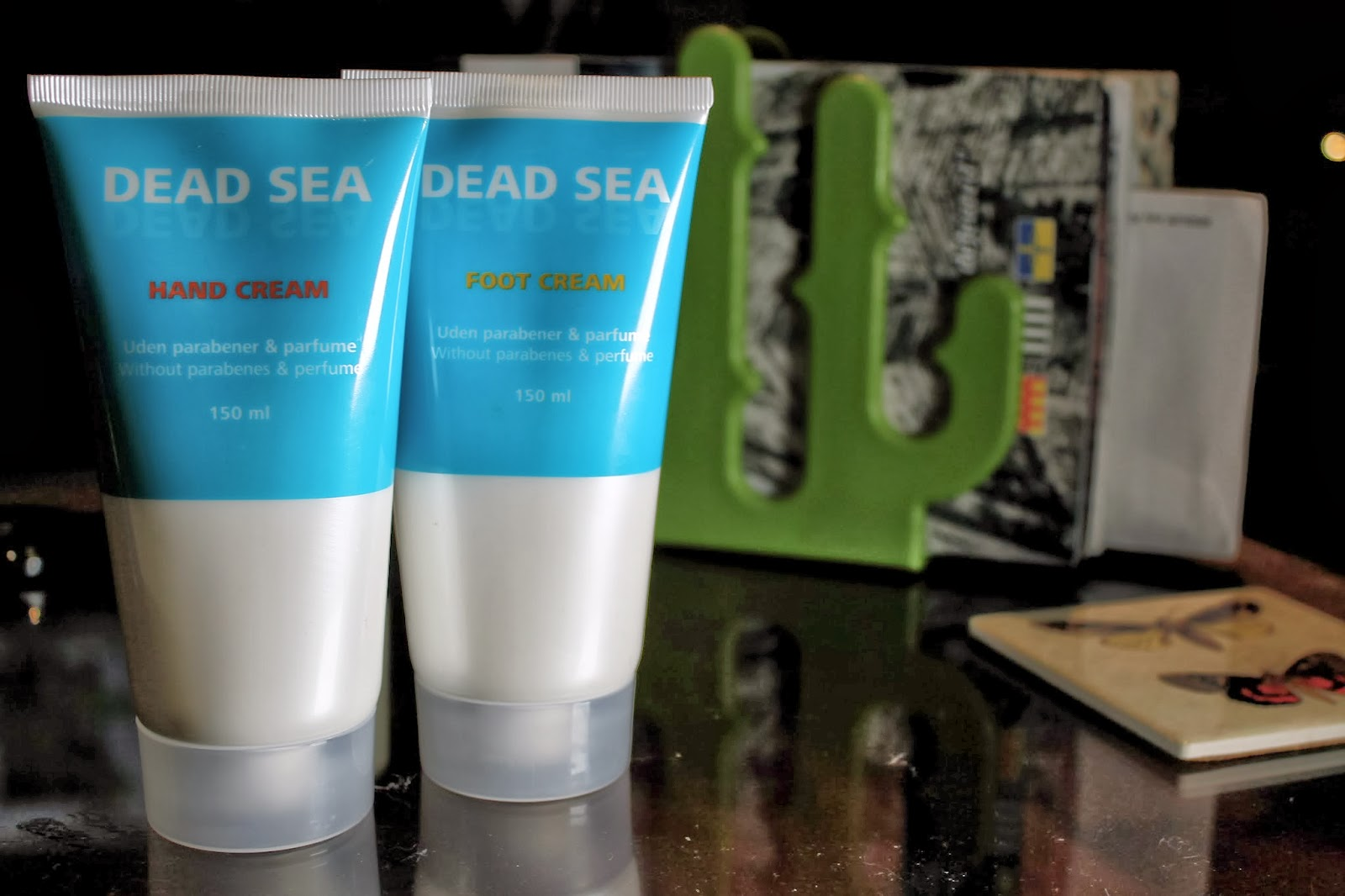 Tiger dead sea hand foot cream review