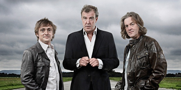 Top Gear stars drive $380m TV deal : Jeremy Clarkson, James May and Richard Hammond