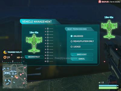 PlanetSide 2 - Vehicle Management