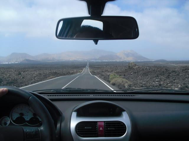 Lanzarote Canarias carretera