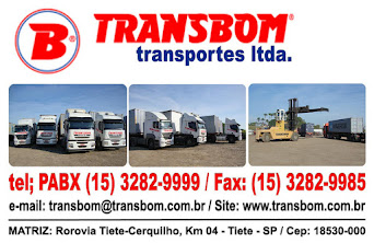 TRANSBOM Transportes Ltda Transporte de Contêineres Rodovia