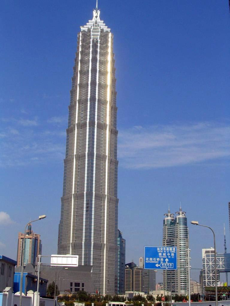 The Jin Mao Tower China Facts Pod
