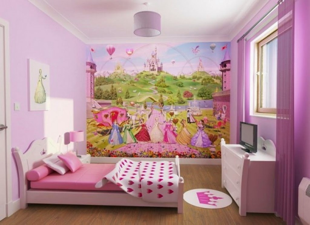 Heart Theme Teen Bedroom ideas