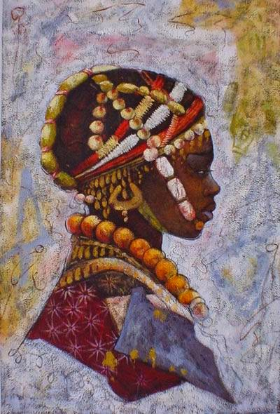 African artwork paintings