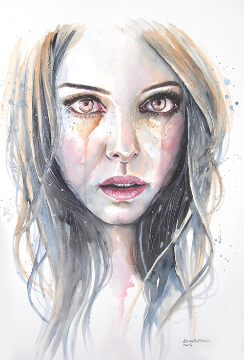 21-Tears-of-Gold-Erica-Dal-Maso-Expressing-Emotions-Through-Watercolor-Paintings-www-designstack-co