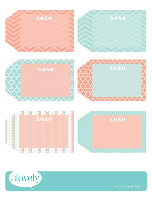 Printable Gift Tags | New Calendar Template Site