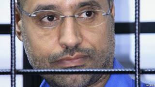 Seif al-Islam, son of the late Colonel Gaddafi, was sentenced to death