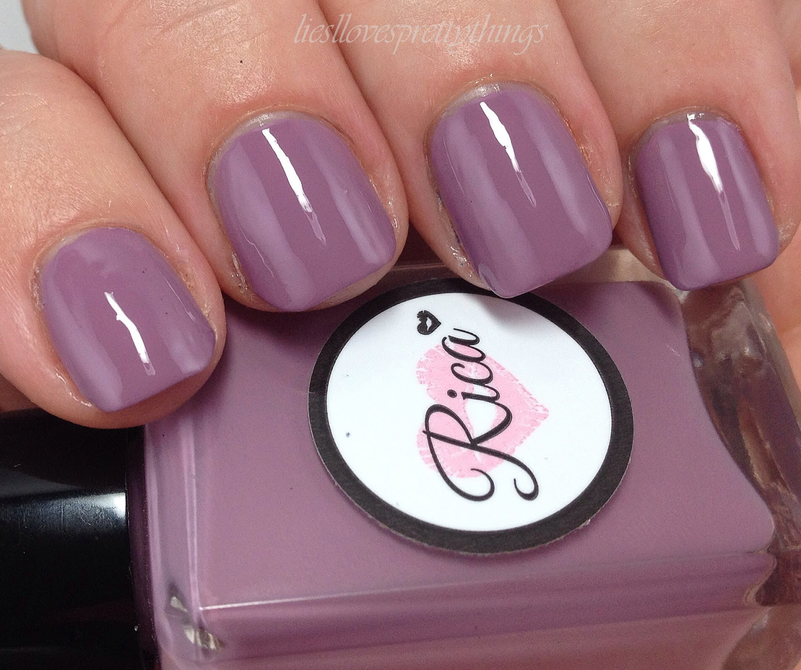 Rica Stamping Polish Prim & Proper swatch and review