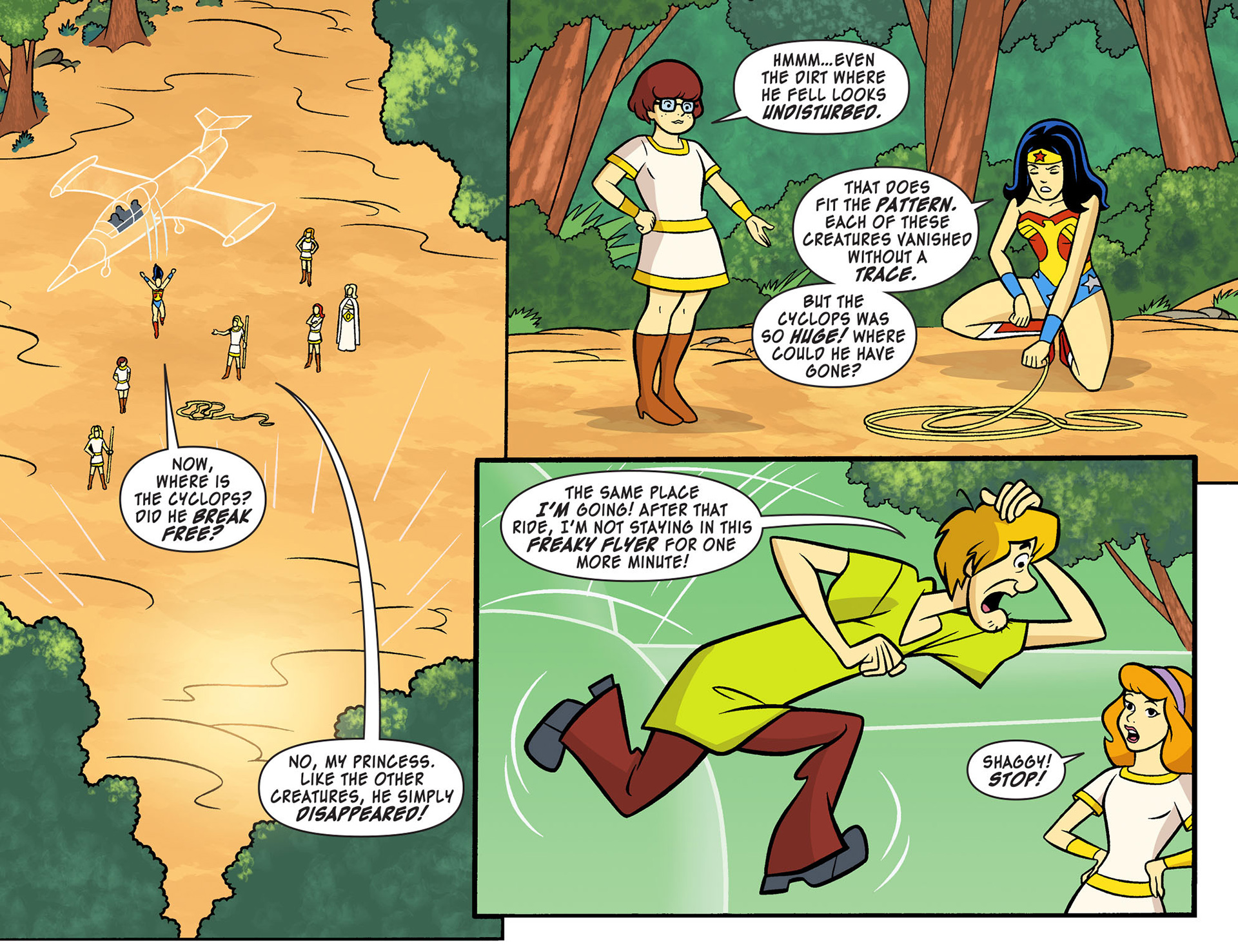 Read online Scooby-Doo! Team-Up comic -  Issue #10 - 11