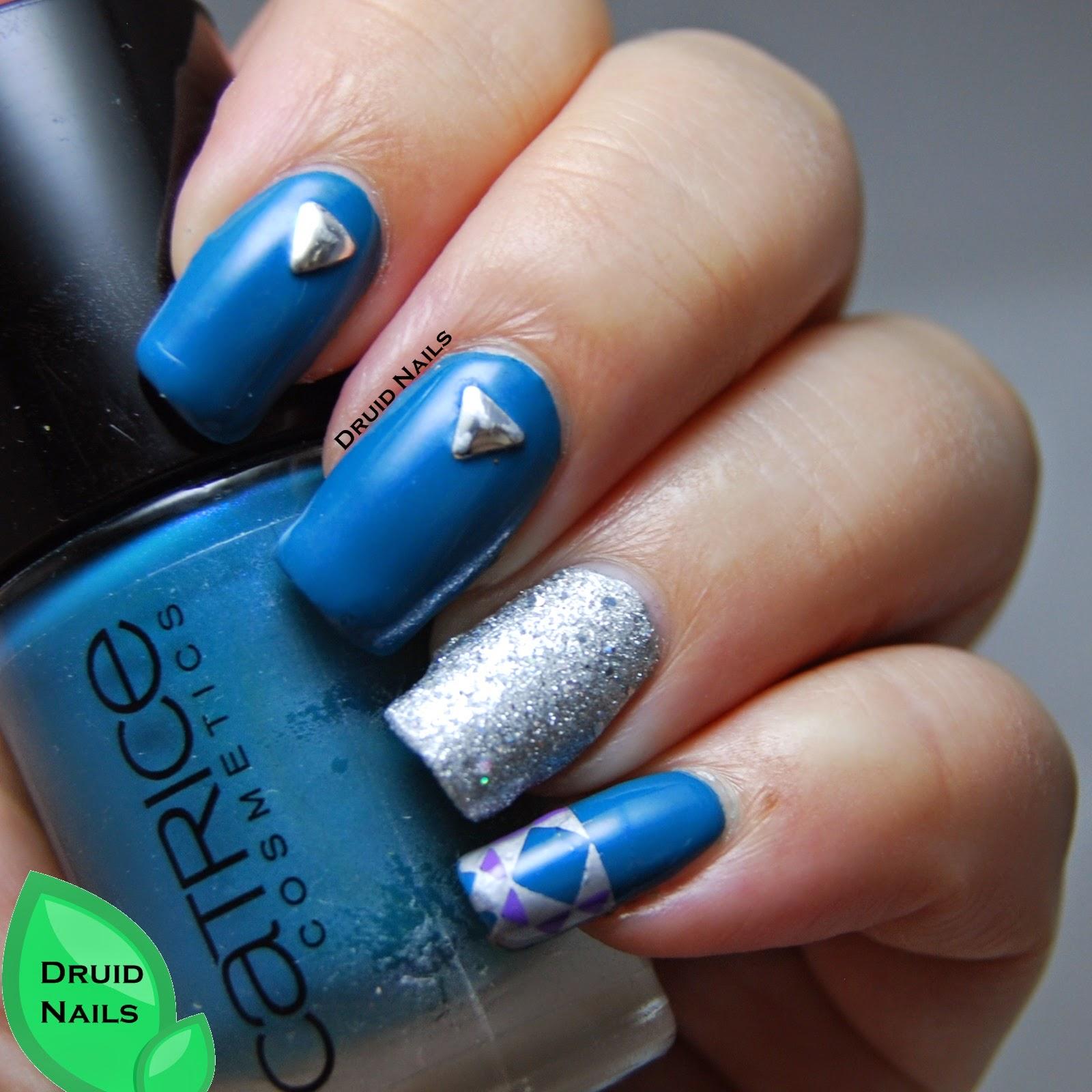 Tuesday Nail Polish: Druid Nails: Tri Polish Tuesday