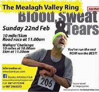 10 mile race nr Bantry. Also 5k run