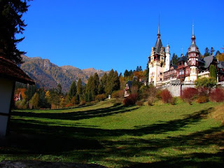 Late autumn at Peles Castle, Sinaia, Romania