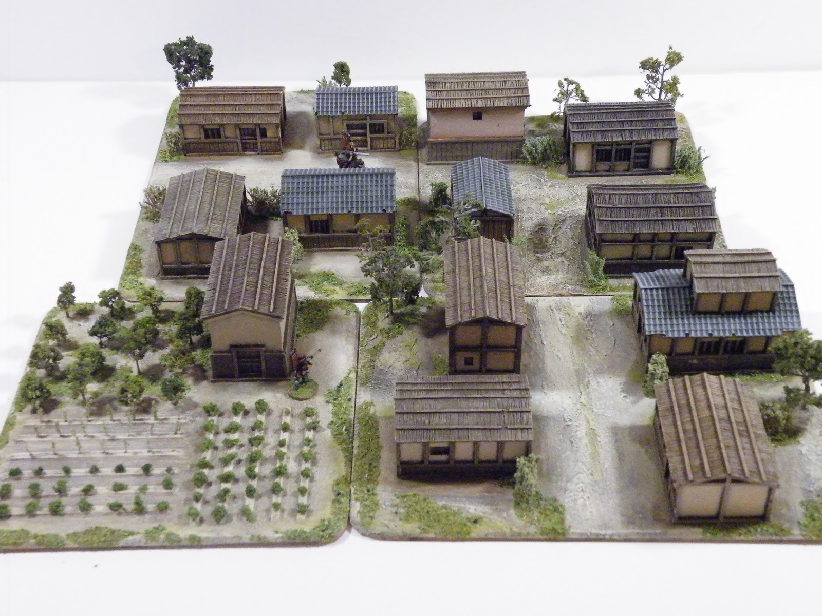 how to build a miniture town
