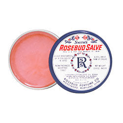 Smith's Rosebud Salve, Rosebud Perfume Co., salve, lips, lip balm, skin, skincare, skin care, makeup
