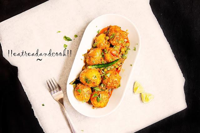 bengali aalur dom recipe