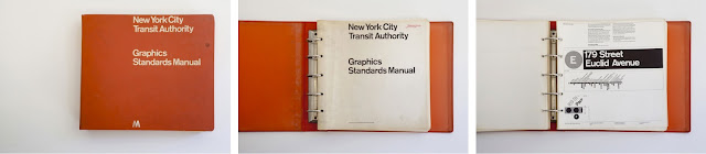 NYC Transit Graphic Standards | Massimo Vignelli