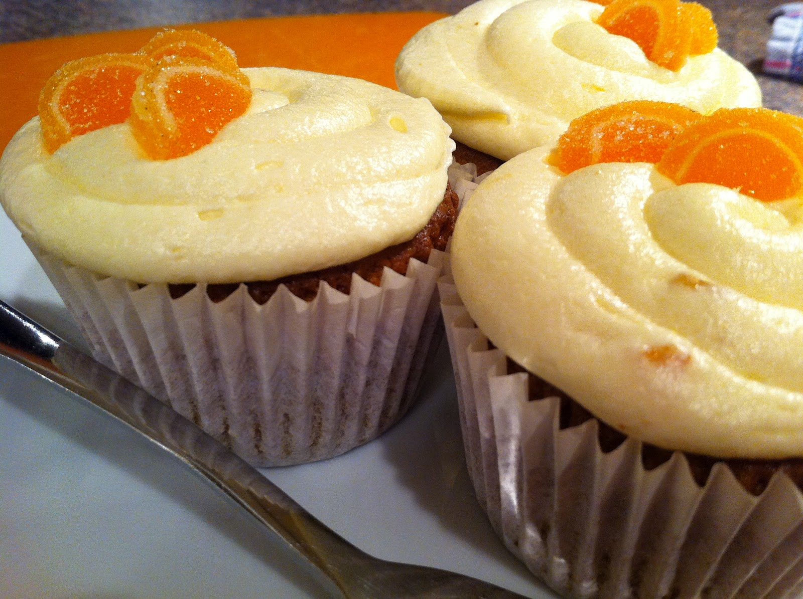 The Cake Shack: Carrot, Orange & Ginger cupcakes