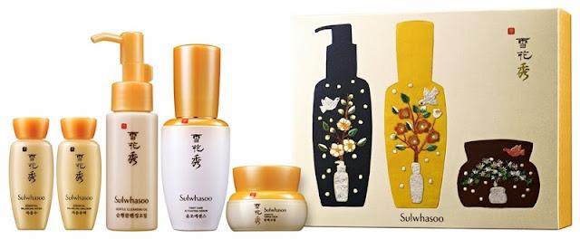 Sulwhasoo Gift Sets, Holiday Moments, sulwhasoo, skincare, korea skincare, Sulwhasoo Essential Holiday Sharing Set