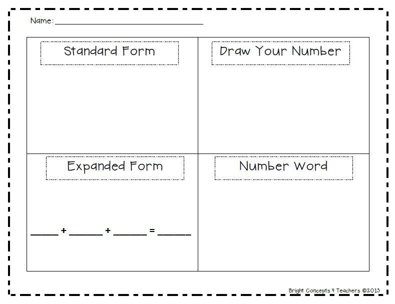 2nd Grade 2nd Grade Place Value Worksheets Printable – Expanded Form Worksheets 2nd Grade