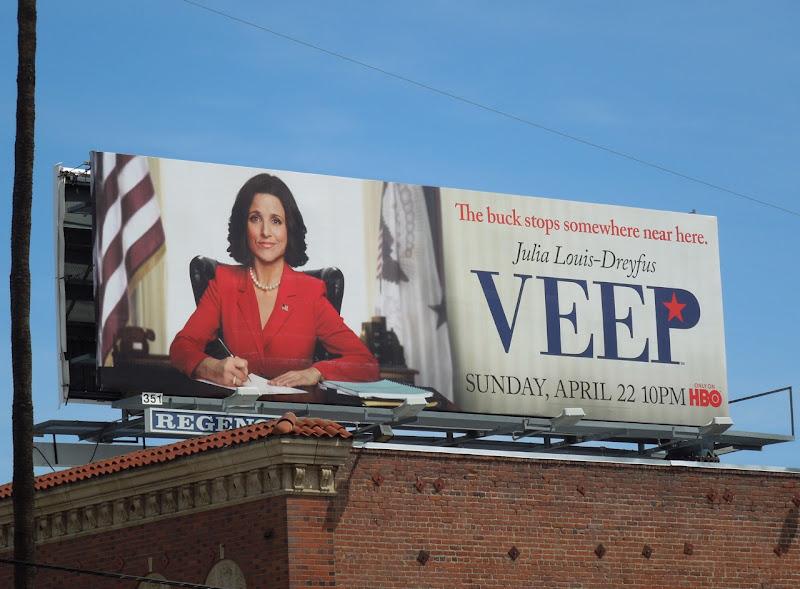 Veep HBO billboard