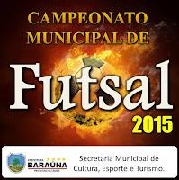 Confira resultados dos Jogos da última rodada do Campeonato Municipal de Futsal de Baraúna