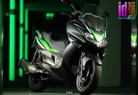 Skuter Matic Kawasaki J300