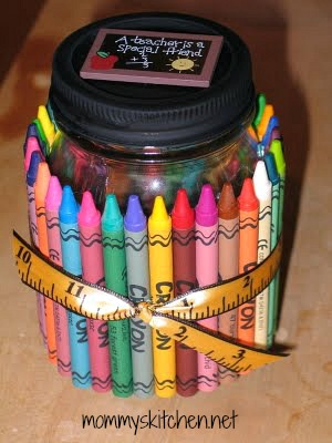Mommys Kitchen Recipes From my Texas Kitchen Crayon Goodie Jar