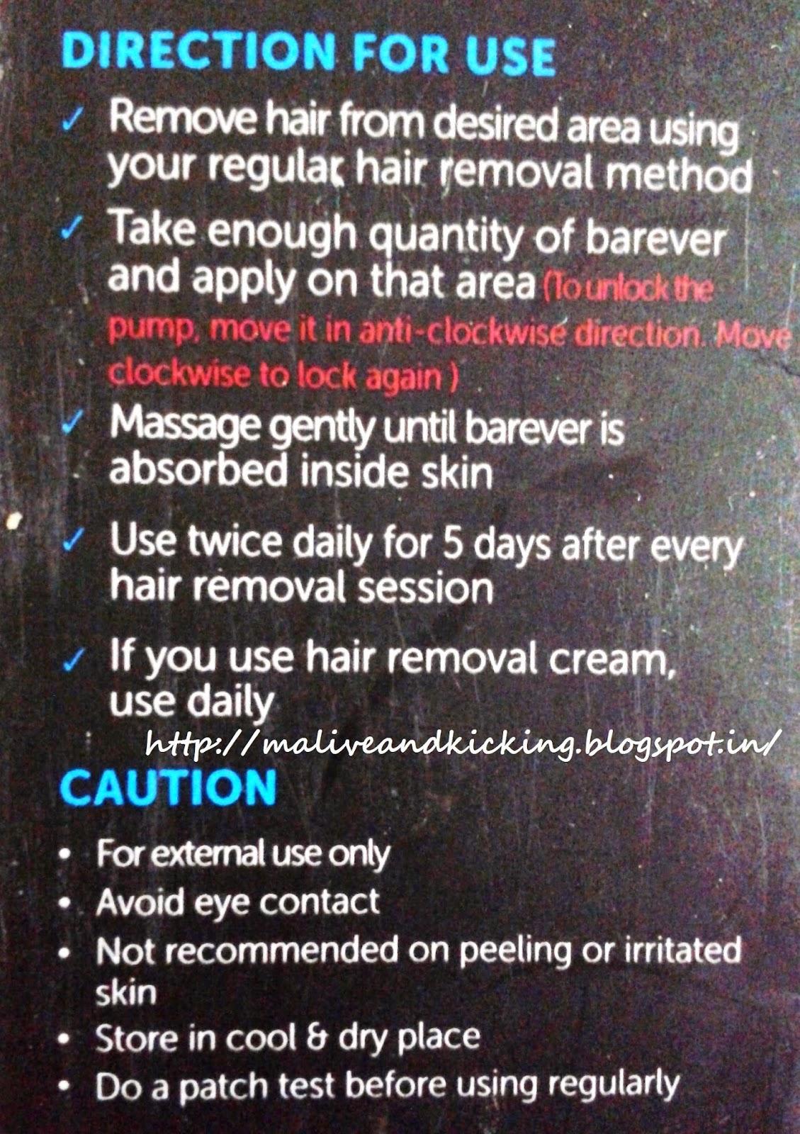Barever Natural Hair Remover