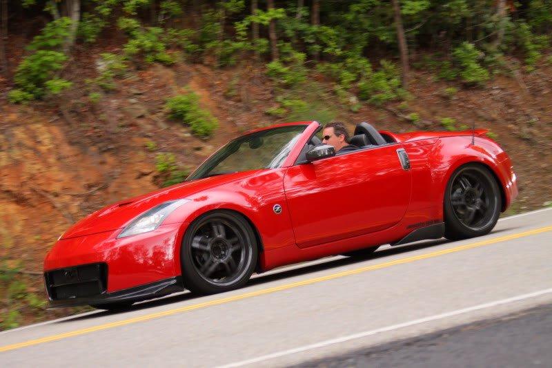 Nissan 350Z Roadster, sportowe roadstery, tylnonapędowe, JDM, zdjęcia