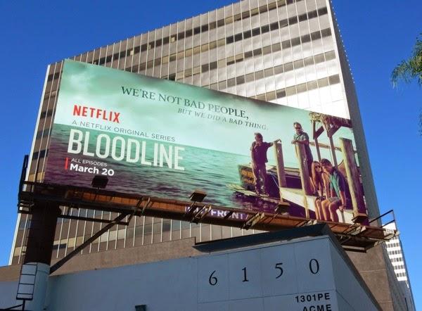 Bloodline series premiere billboard