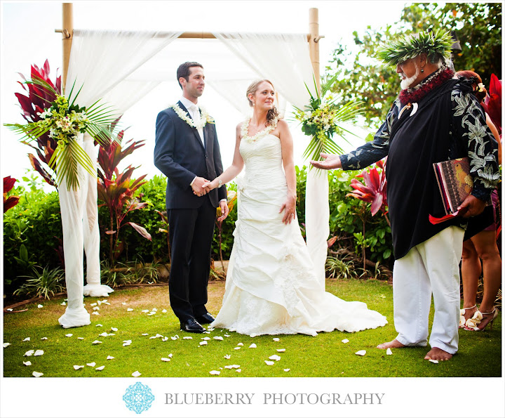 Maui Hawaii Wedding Ceremony Photography