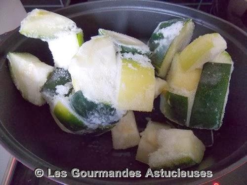 Les gourmandes astucieuses cuisine v g tarienne bio - Comment congeler les courgettes du jardin ...