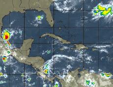 Clima en El Caribe SATELITE  de Venezuela y el Caribe animado
