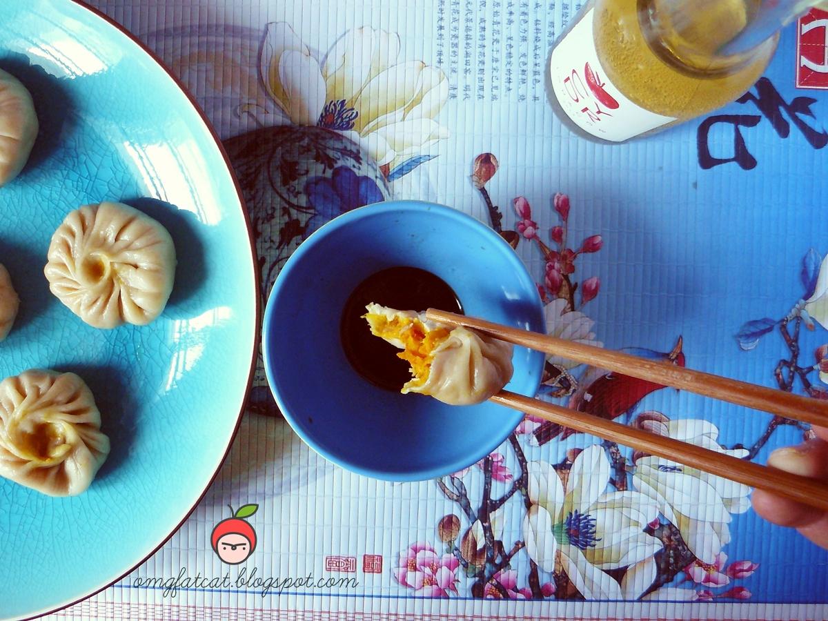 Chińskie pierożki na parze chinese steamed duplings jiaozi