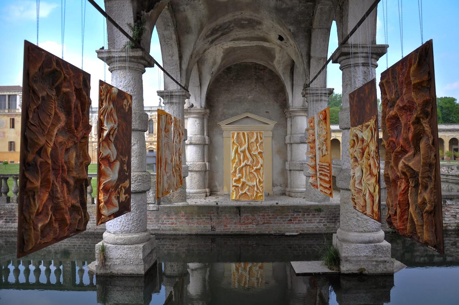 Fiorello Stefanato, Opera con l'opera, Villa Contarini modern art exhibition, Piazzola sul Brenta, Veneto, Italy-2