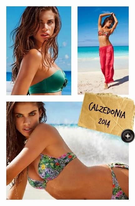 tendencias traje de baño verano 2014 calzedonia