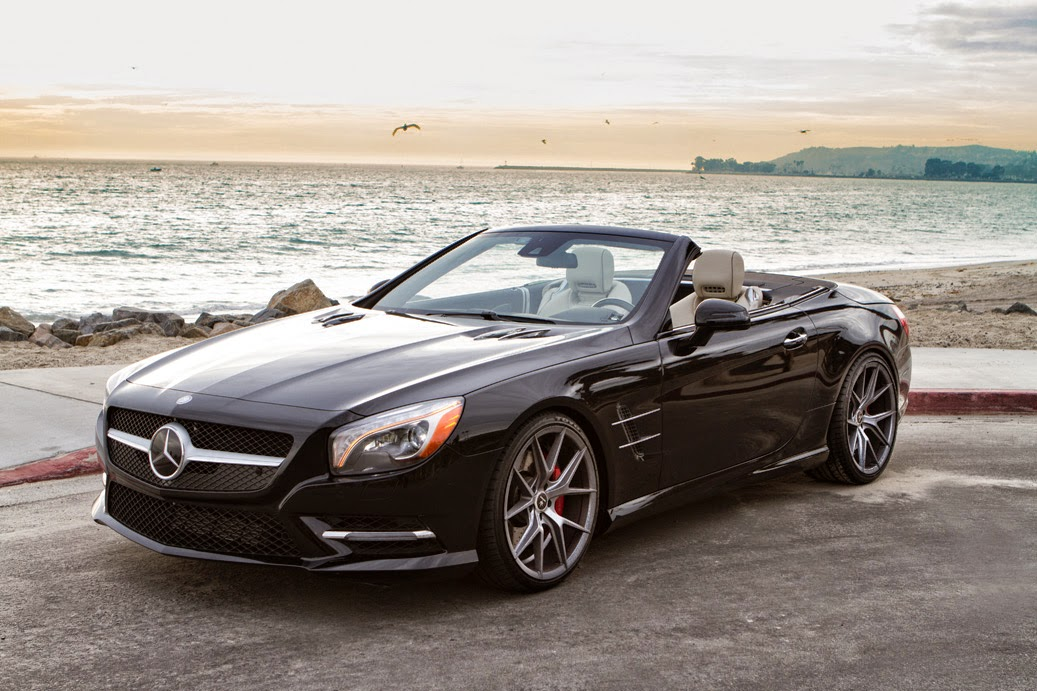Mercedes Benz Sl550 On Verde Axis V99 Benztuning