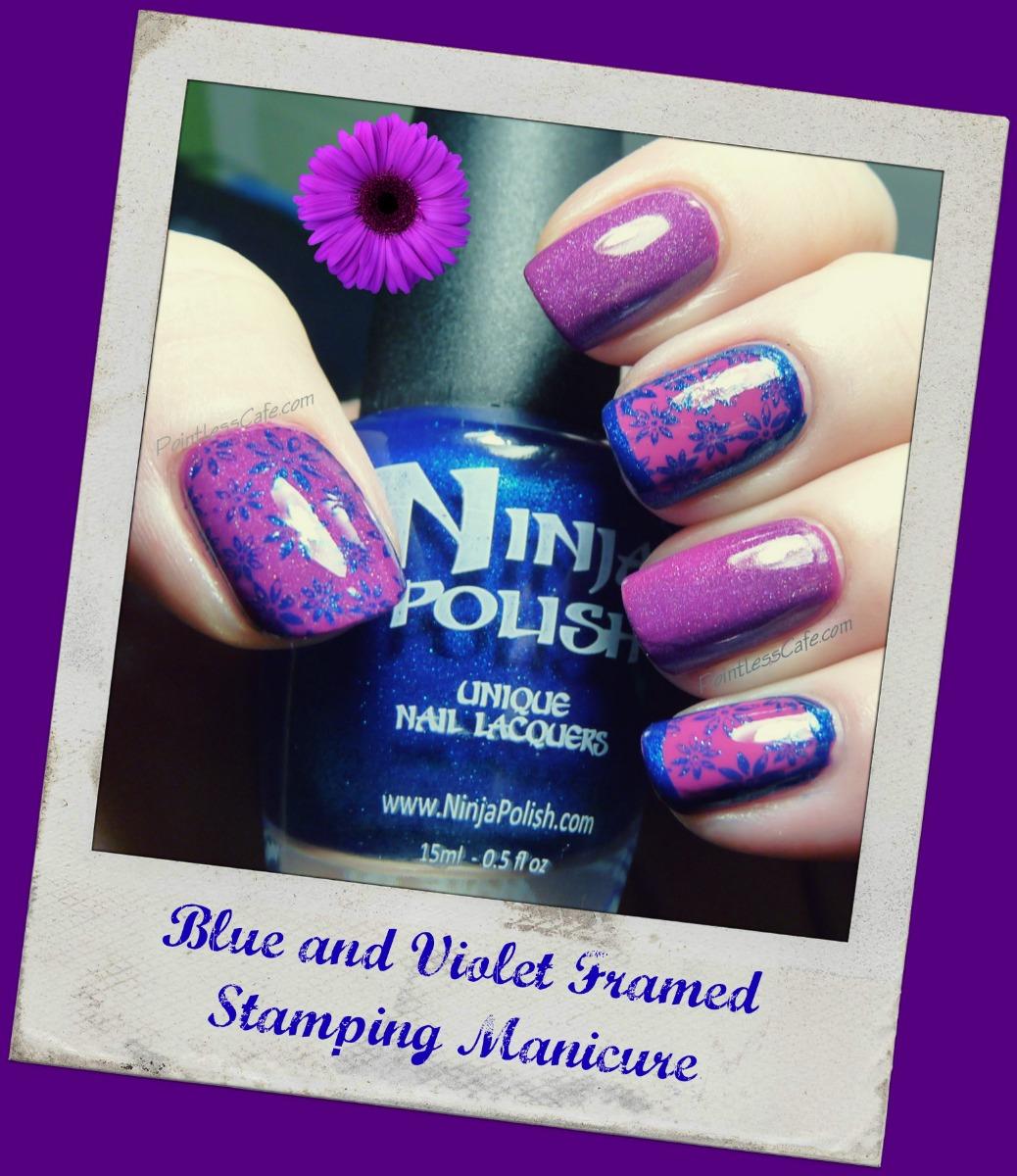 Random Monday Nail Art - A franken, framed nails and stamping ...