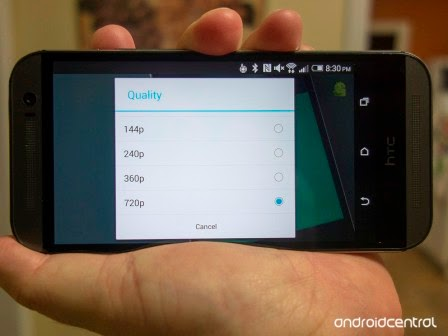 Update App YouTube untuk Android hadirkan pilihan kualitas video