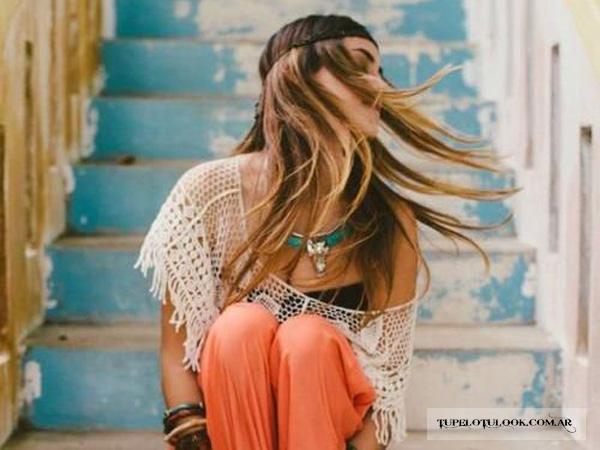 peinados 2015 estilo boho