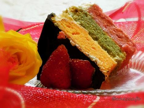 Thinking And Inking Story Behind Joan S Rainbow Cake