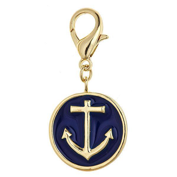 Navy Anchor Charm8