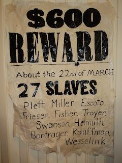 the Plain Professors: The Underground Railroad Honor Roll ...