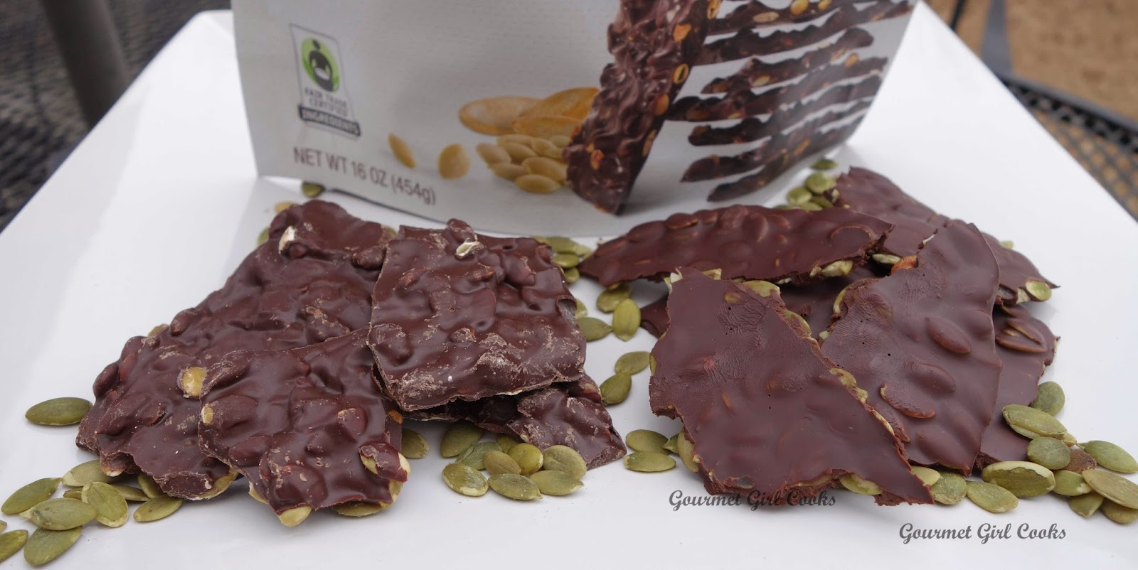 To make the bark thicker like that on the left, allow chocolate to ...