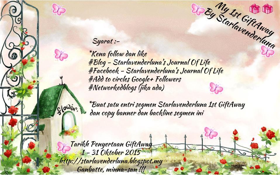 Segmen Starlavenderluna 1st GiftAway