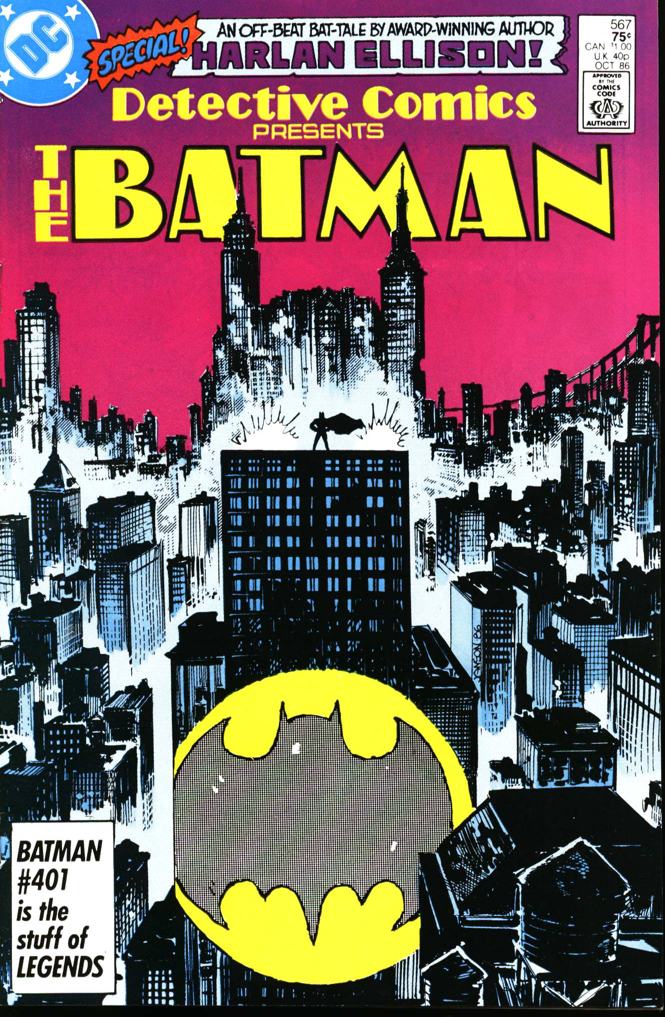 Detective Comics (1937) Issue #567 Page 1