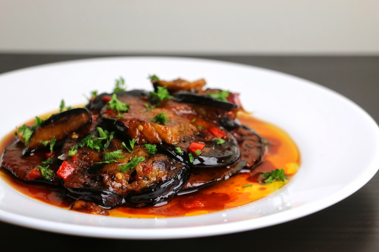 Flame Roasted Eggplant With Spices, Coconut, And ...